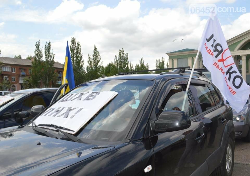 В Северодонецке прошел нецензурный митинг недовольных качеством дорог (фото), фото-5