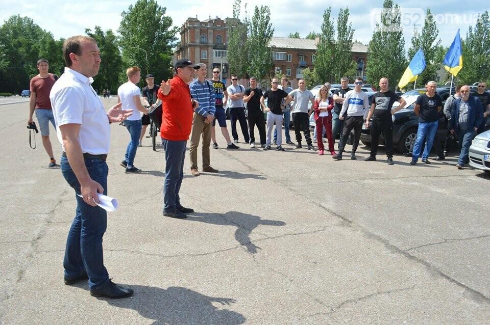 В Северодонецке прошел нецензурный митинг недовольных качеством дорог (фото), фото-6