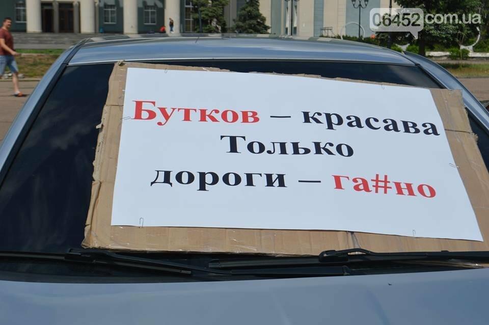 В Северодонецке прошел нецензурный митинг недовольных качеством дорог (фото), фото-1