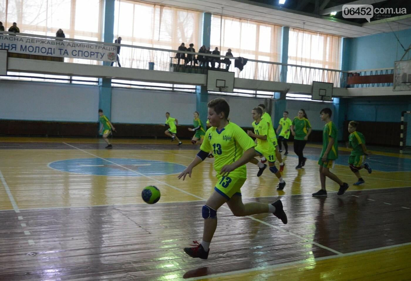 В Сєвєродонецьку відбулась обласна першість з ганболу, фото-9