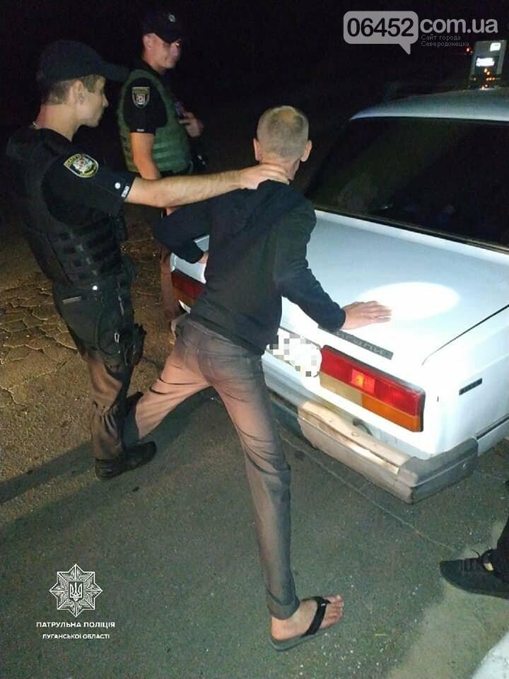 В Северодонецке патрульные обнаружили нетрезвого водителя, фото-1