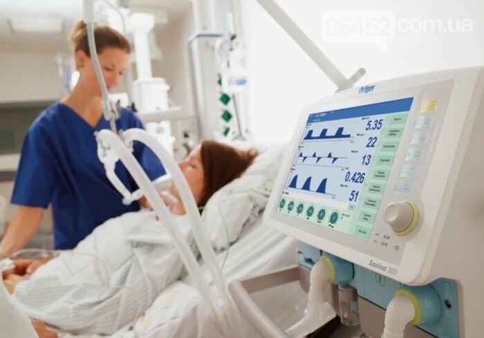 В Северодонецке имеются в наличии аппараты искусственной вентиляции легких, фото-1