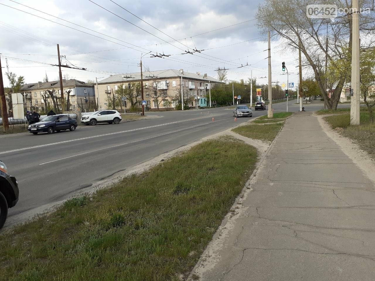 В Северодонецке столкнулись два автомобиля, фото-1