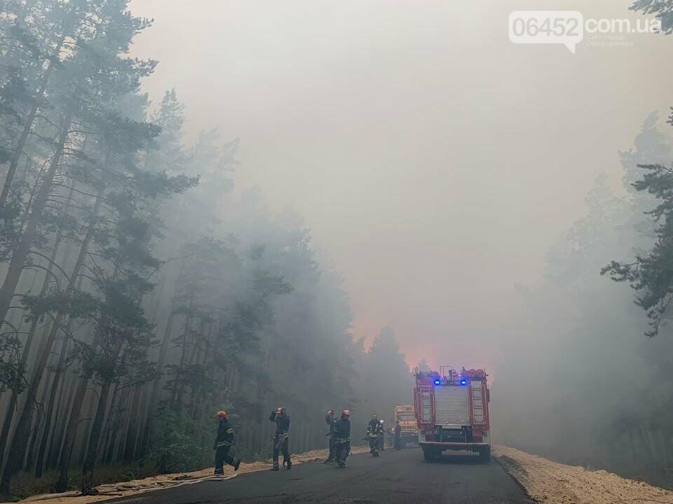 """Северодонецк в """"тумане"""". Спасатели продолжают ликвидацию пожара. , фото-8"""