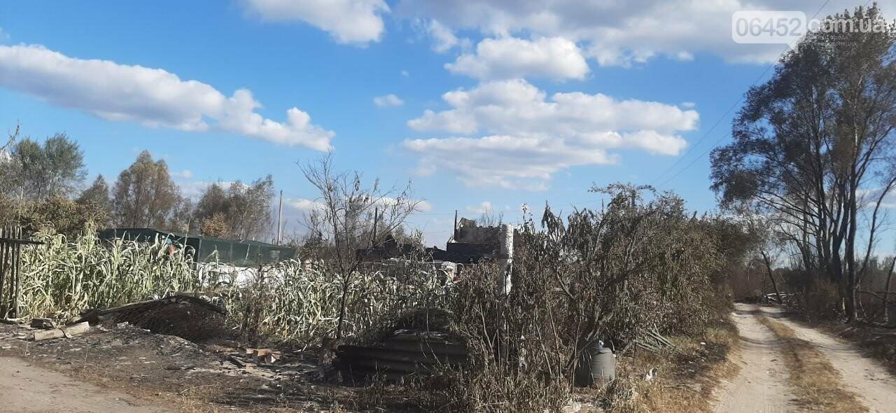 """""""Мы увидели дым и сразу бросились помогать"""". История очевидца пожара под Северодонецком, фото-12"""