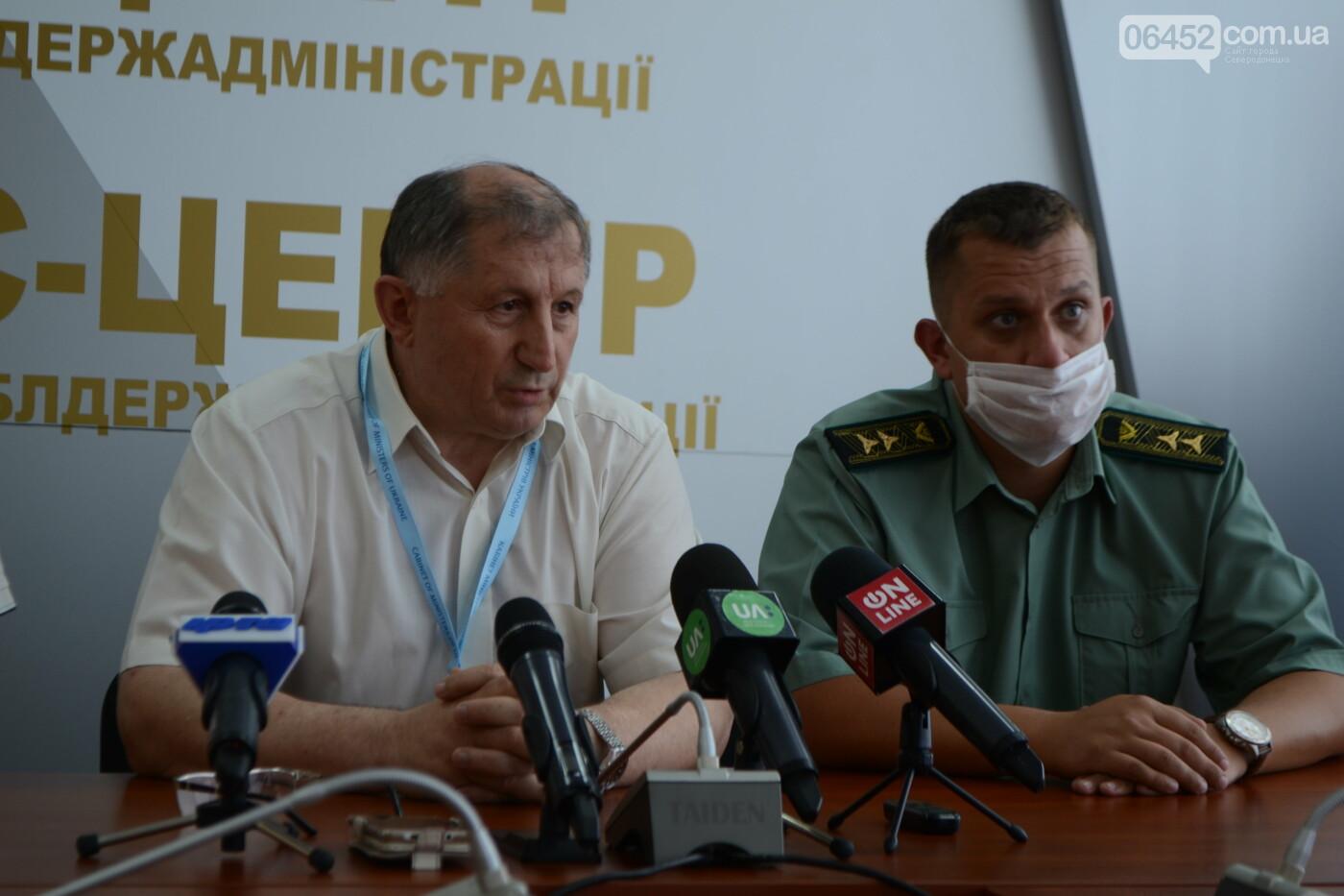 В Гослесагентстве оценили убытки от пожара на Луганщине в 5 миллиардов гривен, фото-1