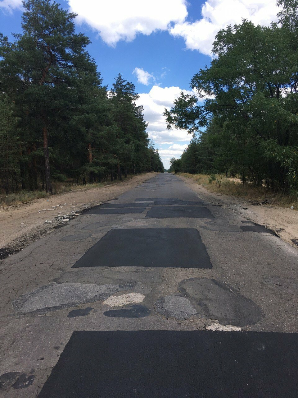 Многострадальная дорога на Пурдовку дождалась ремонта( фотофакт) , фото-1