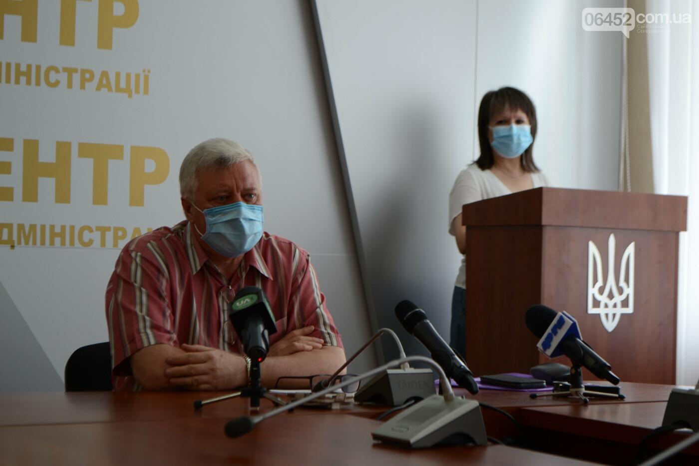 Северодонецк бьет печальный рекорд по случаям коронавируса в области, фото-1