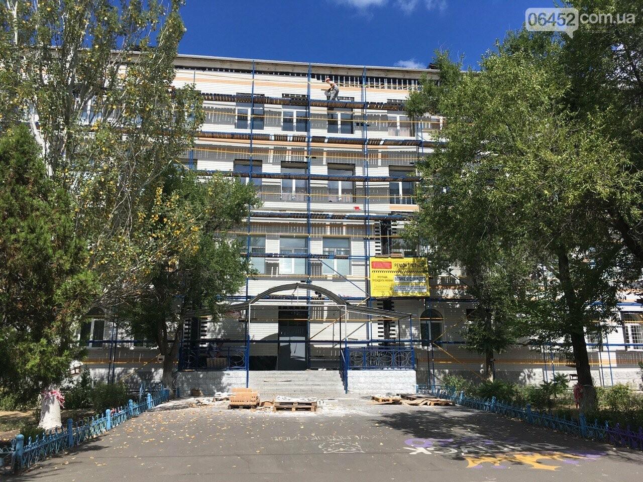 Карантин не помеха: в Северодонецке реконструируют школу (фото) , фото-4