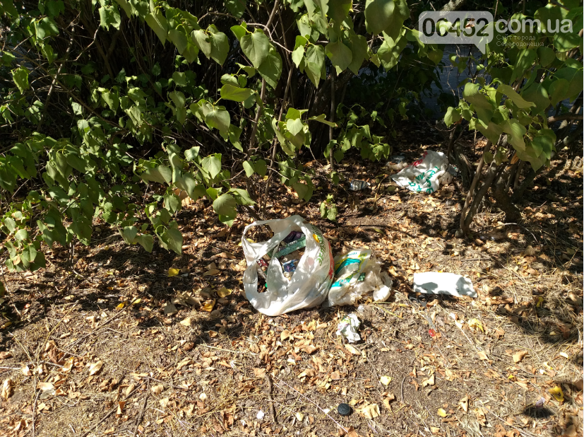 """Следы"" Независимости: Центр Северодонецка завален мусором (фото) , фото-12"