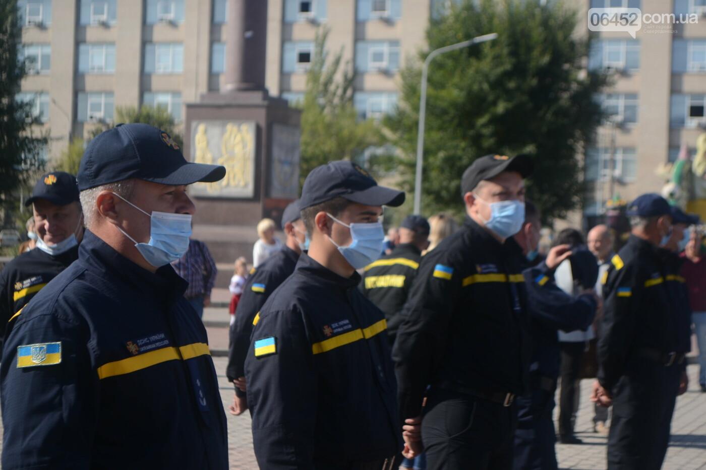 Северодончане отметили День спасателя Украины (фоторепортаж) , фото-9
