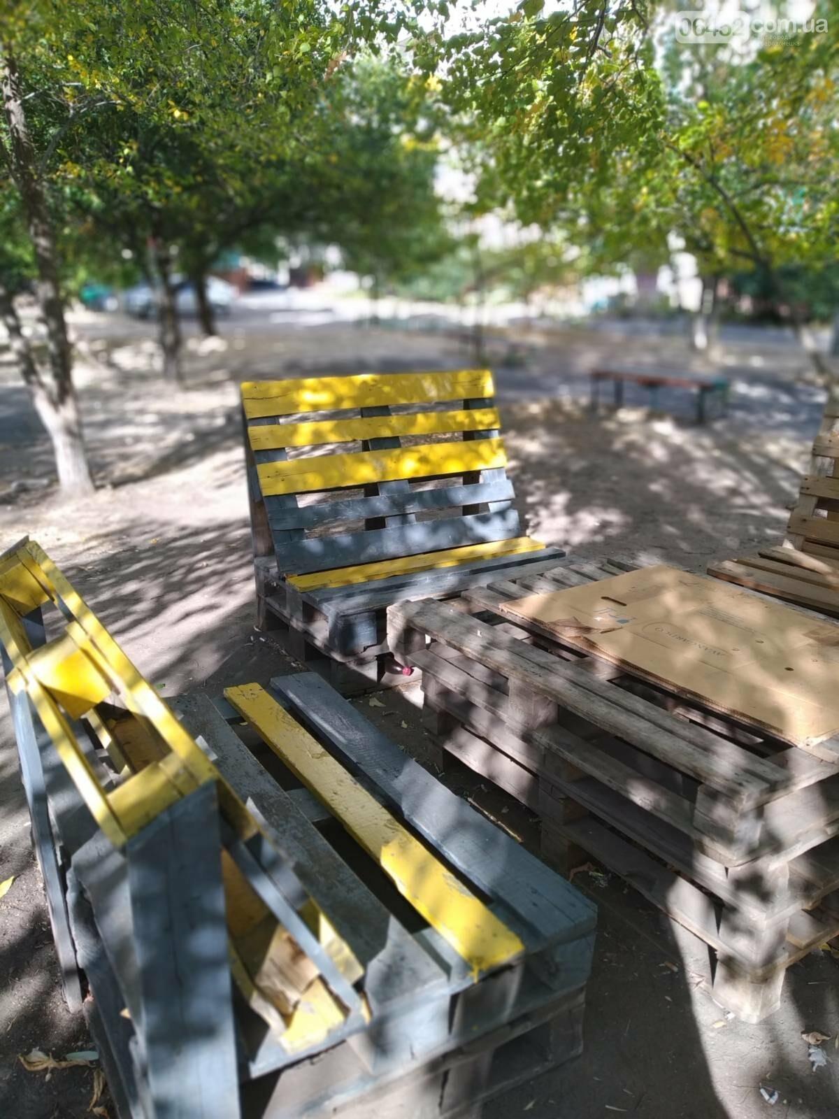 Северодонецк украсили необычные скамейки ( фото) , фото-6