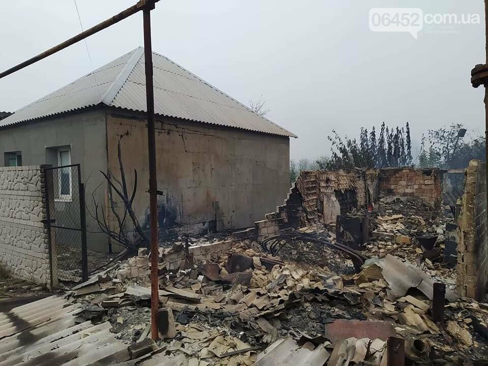 Пожар на подступах к Северодонецку удалось локализовать , фото-2