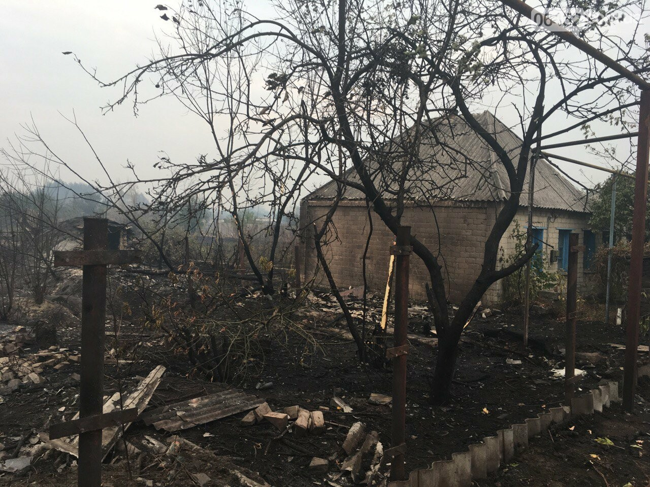 К тушению пожаров под Северодонецком подключена авиация (фото, видео), фото-4