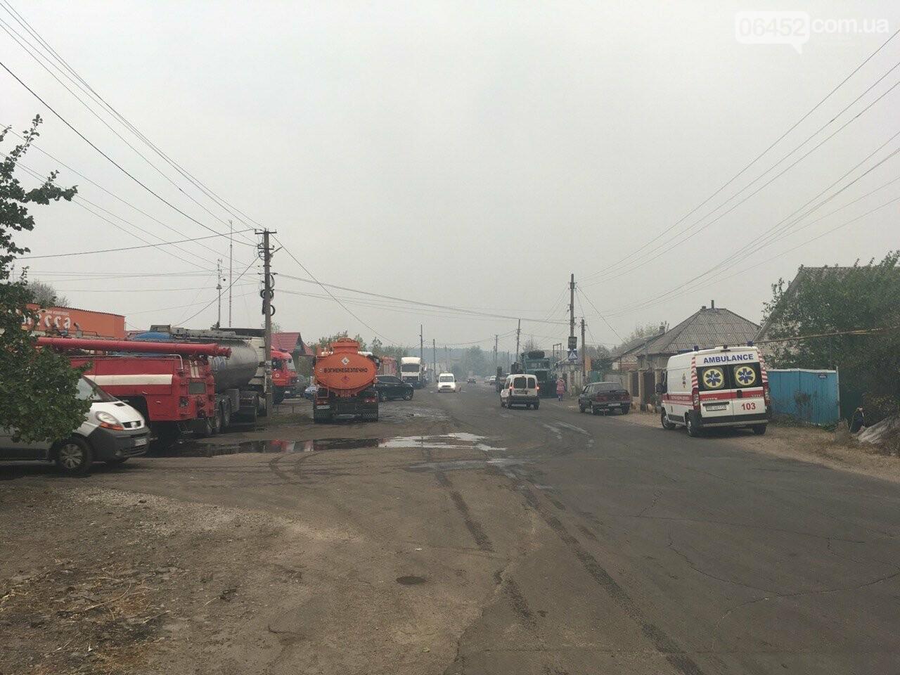 К тушению пожаров под Северодонецком подключена авиация (фото, видео), фото-6