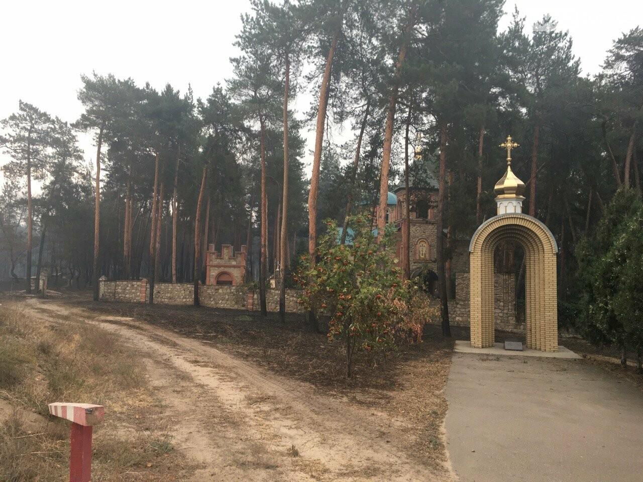 К тушению пожаров под Северодонецком подключена авиация (фото, видео), фото-1