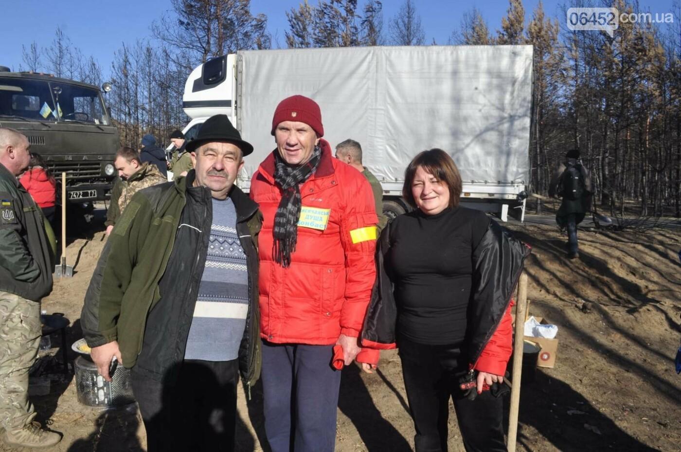 Под Северодонецком прошла массовая высадка леса (фото, видео) , фото-4