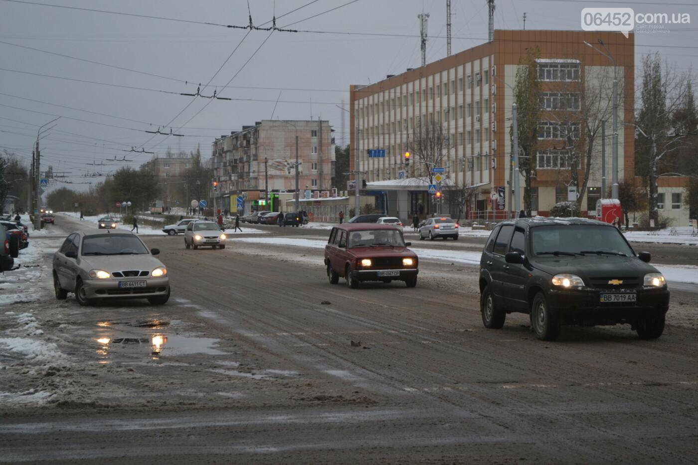 В Северодонецке выпал первый снег ( фото ) , фото-31