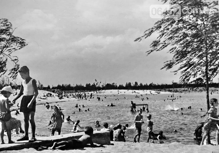 Парковое озеро в 1960-х Фото: А.Зорик