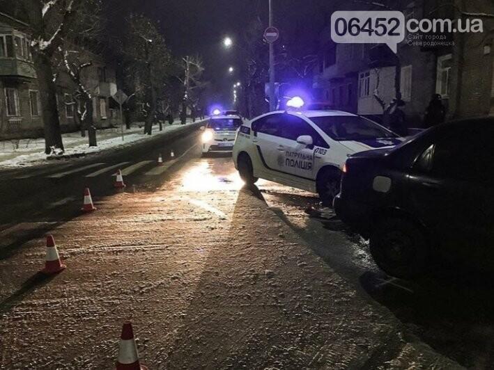 В Северодонецке произошло новое ДТП с участием автомобиля патрульной полиции (фото), фото-1