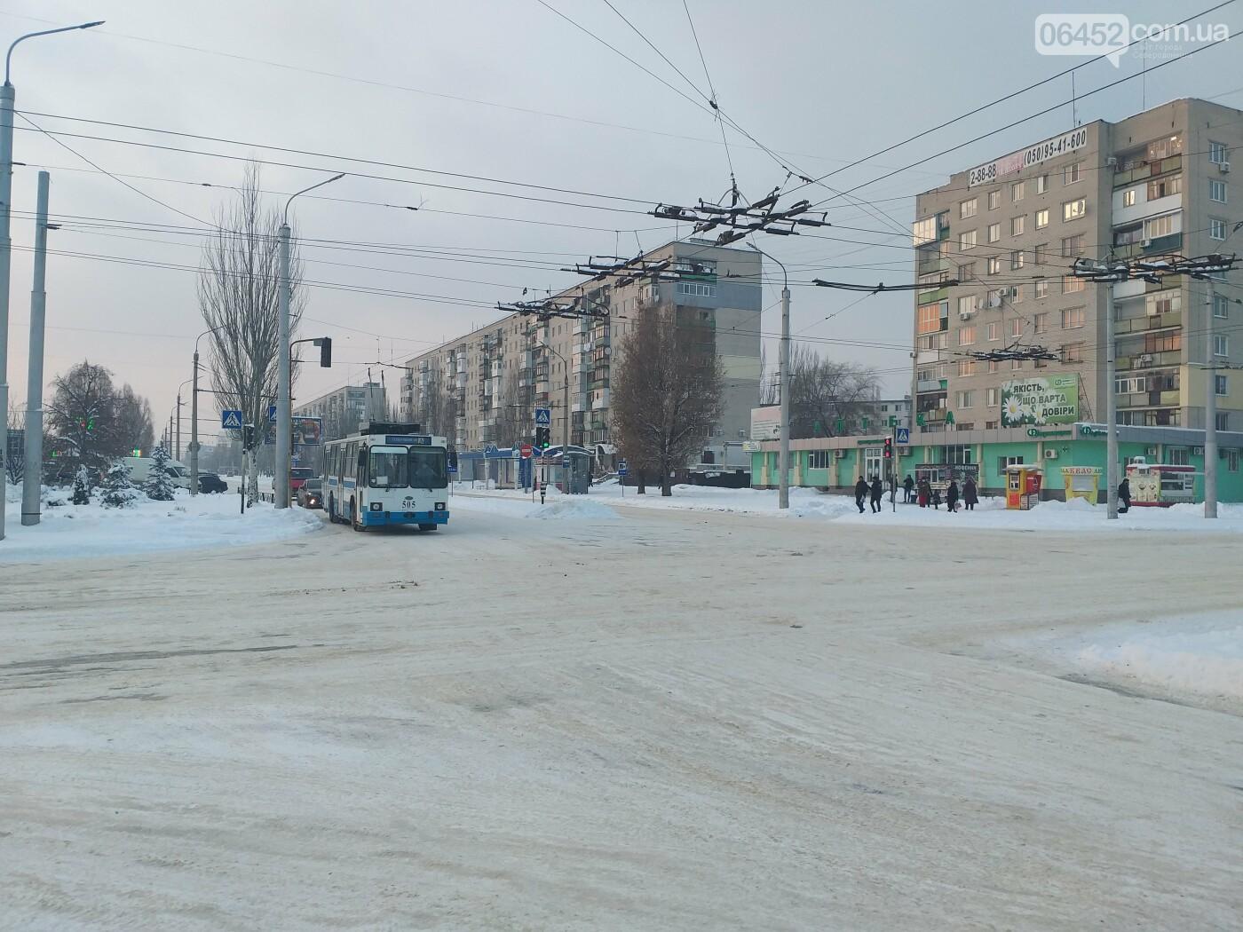 Заснеженный город: в Северодонецк пришла настоящая зимняя сказка (фото) , фото-4
