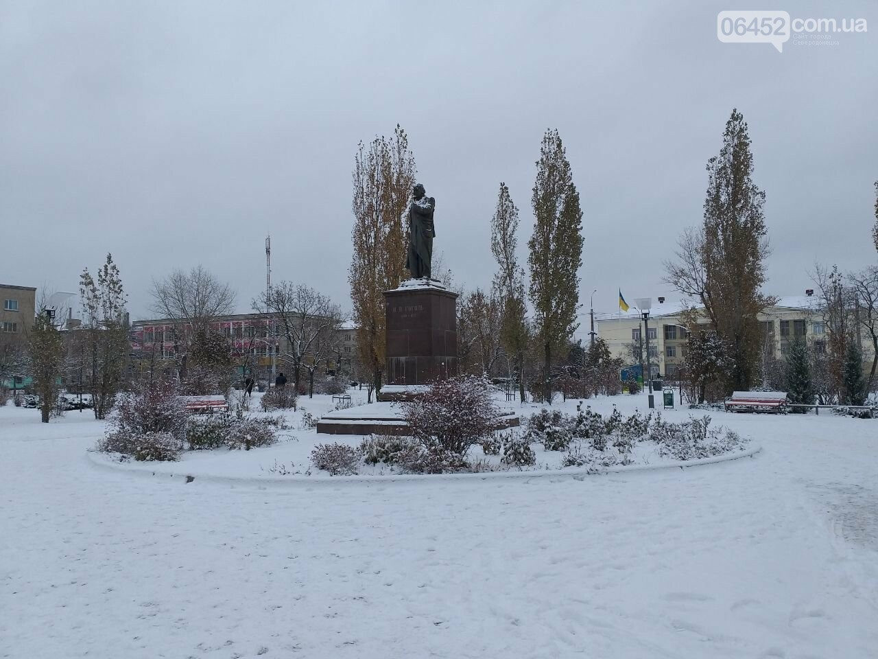Заснеженный город: в Северодонецк пришла настоящая зимняя сказка (фото) , фото-3