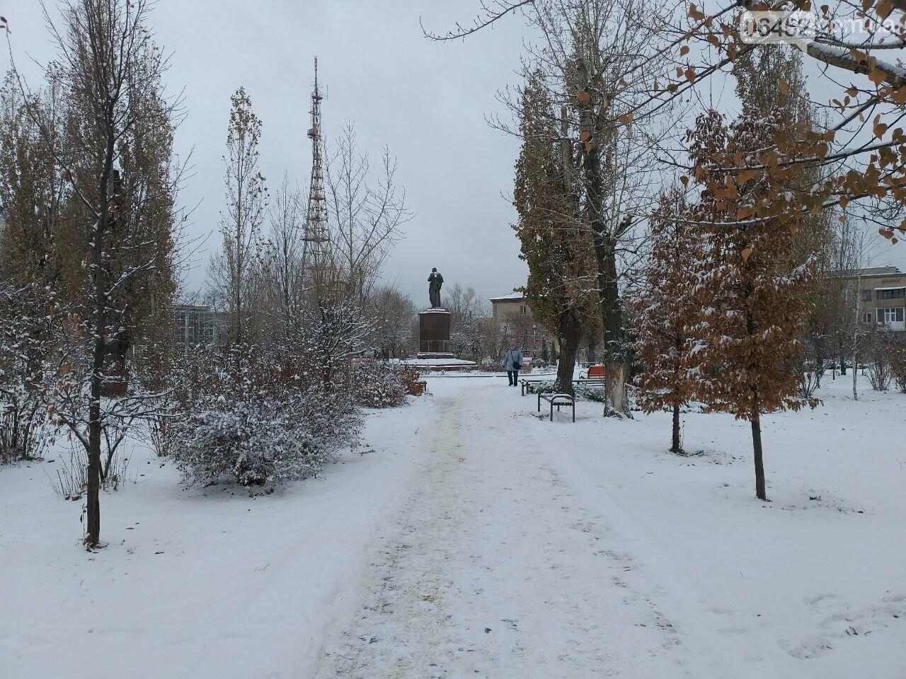 Заснеженный город: в Северодонецк пришла настоящая зимняя сказка (фото) , фото-28