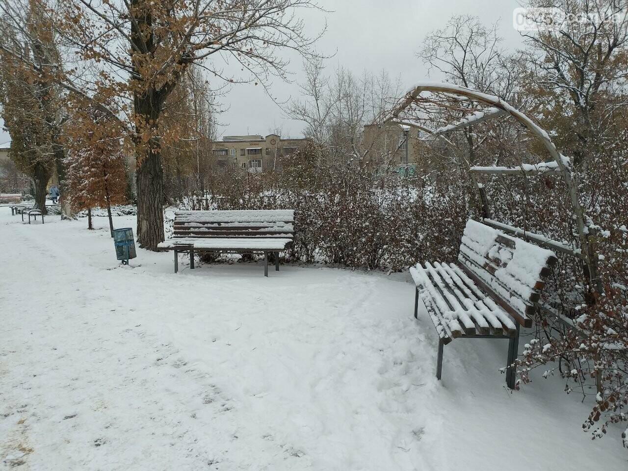 Заснеженный город: в Северодонецк пришла настоящая зимняя сказка (фото) , фото-43