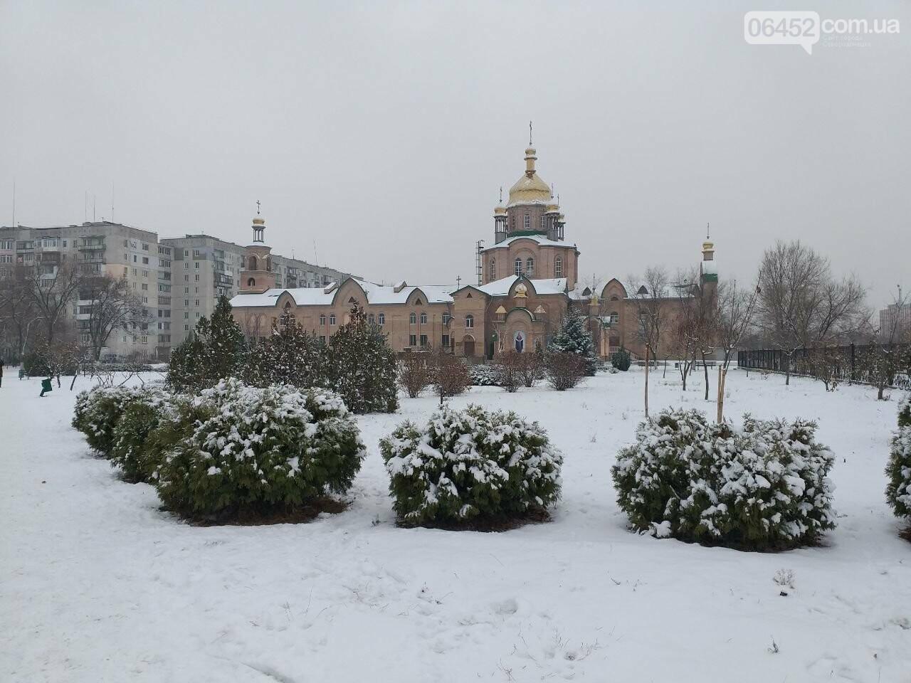 Заснеженный город: в Северодонецк пришла настоящая зимняя сказка (фото) , фото-38