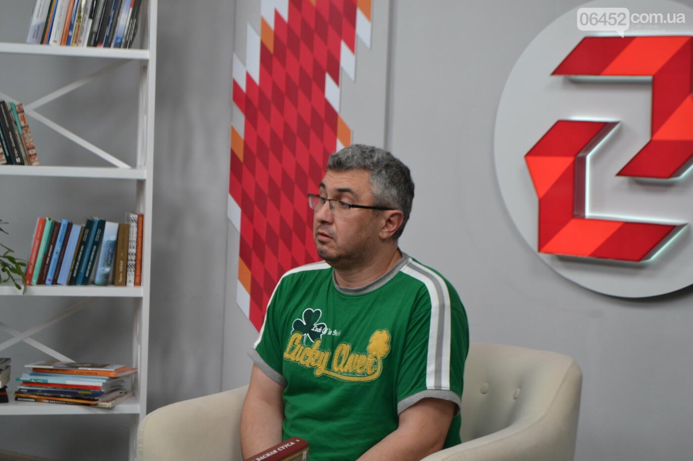Северодончанам презентовали запрещенную книгу о Стусе , фото-1