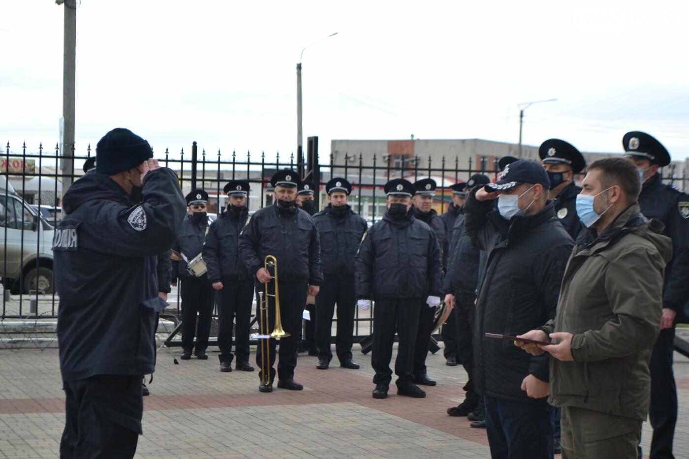 В Северодонецке вручили Боевой флаг батальону полиции особого назначения имени Сергея Губанова (фото), фото-15