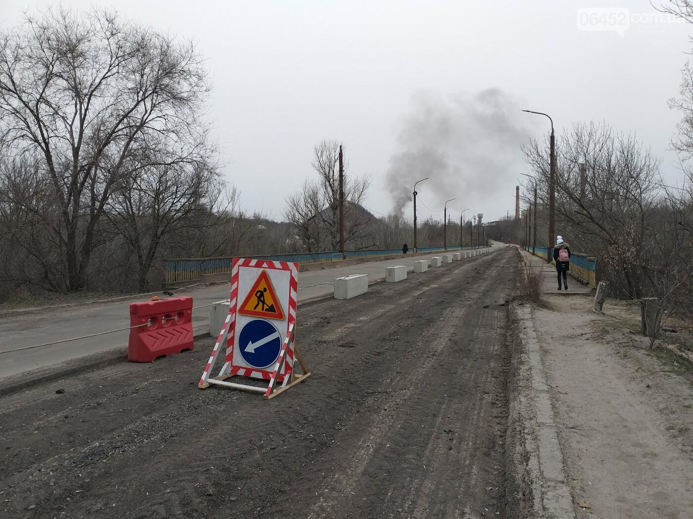 Между Северодонецком и Лисичанском восстанавливают аварийный мост (ФОТО) , фото-8