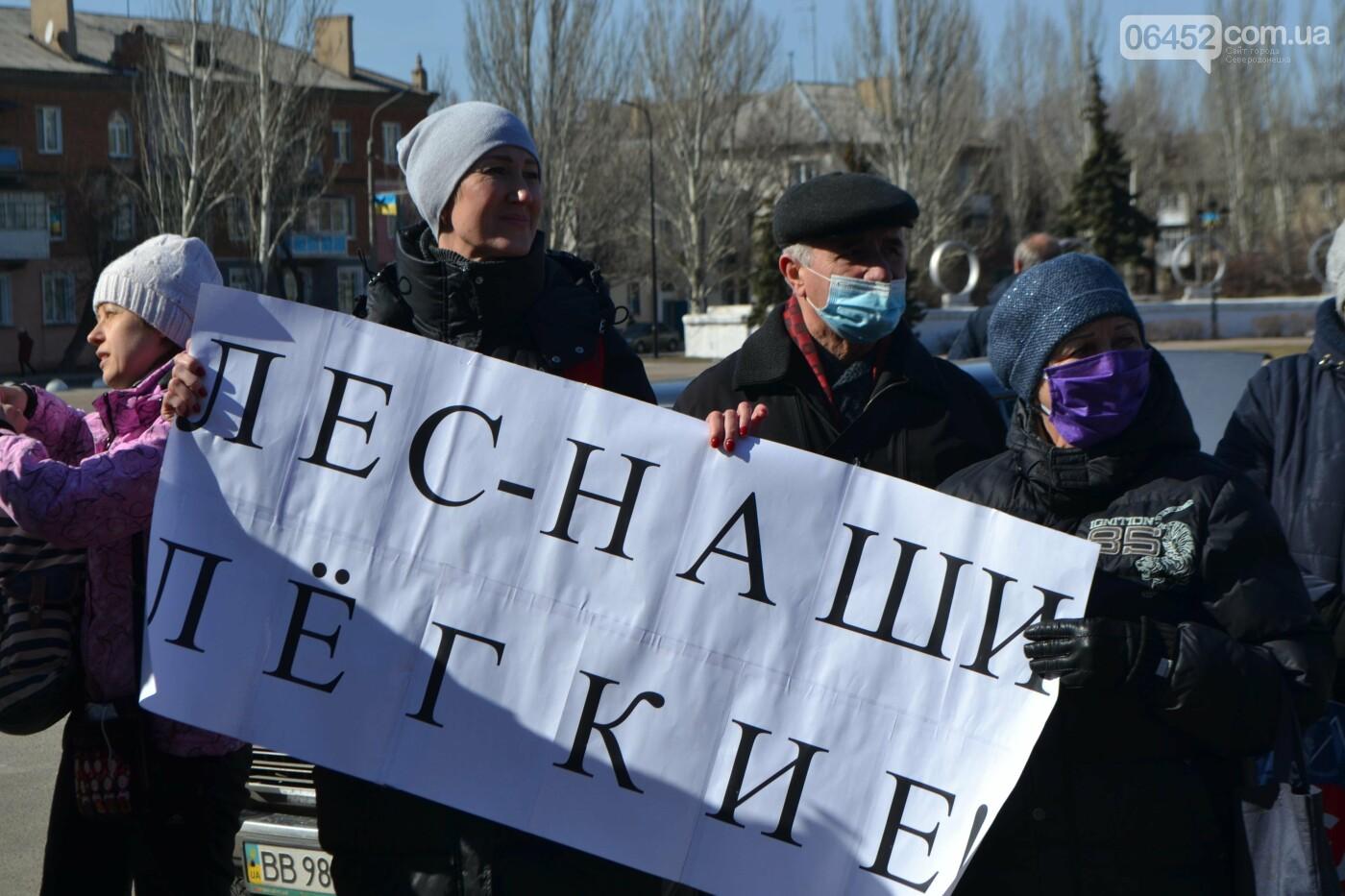 Северодончане вышли на мирную акцию против вырубки леса  (фото, видео) , фото-3