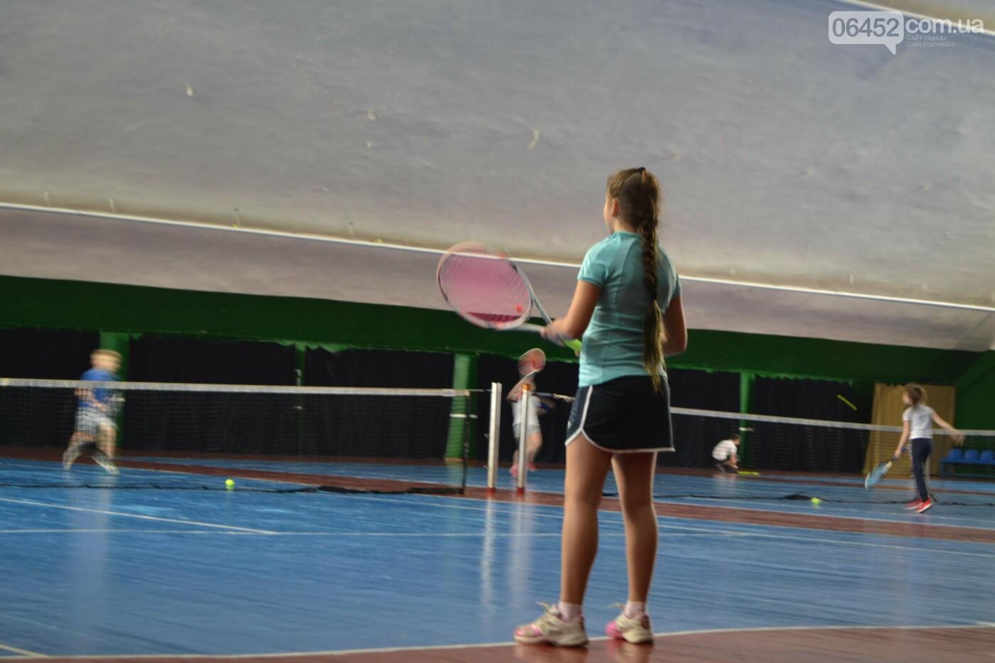 В Северодонецке проходит Чемпионат области по теннису (фото, видео) , фото-3