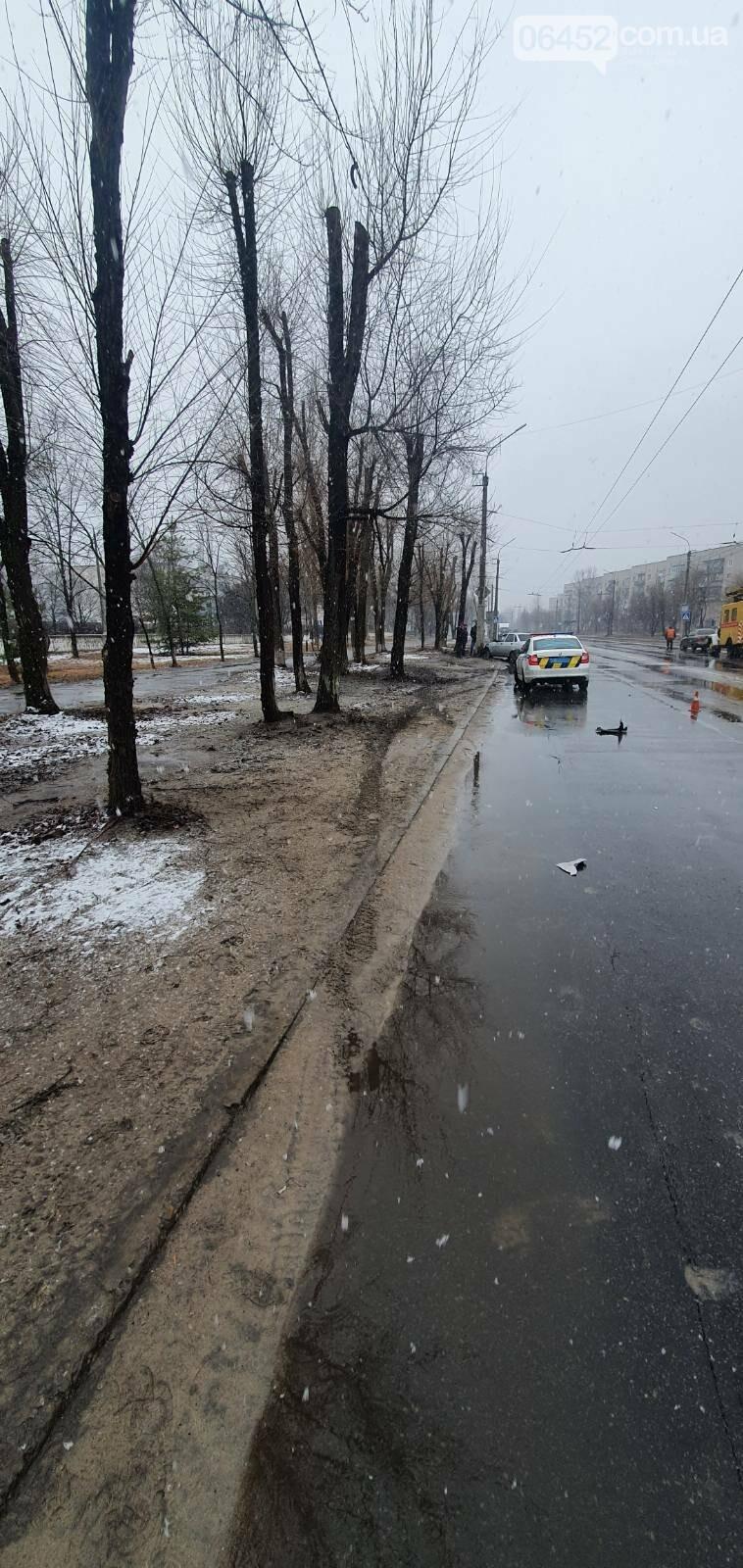 В Северодонецке из-за превышения скорости произошло ДТП (фото) , фото-2