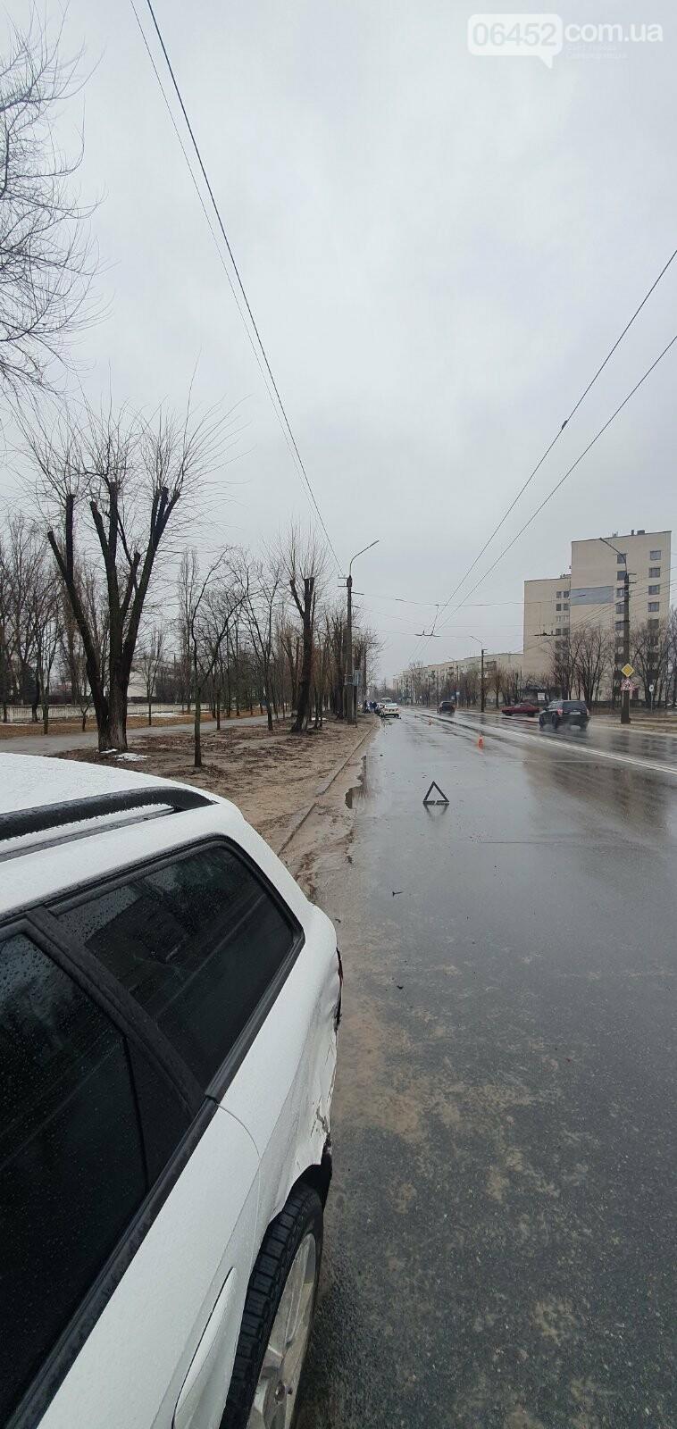 В Северодонецке из-за превышения скорости произошло ДТП (фото) , фото-1