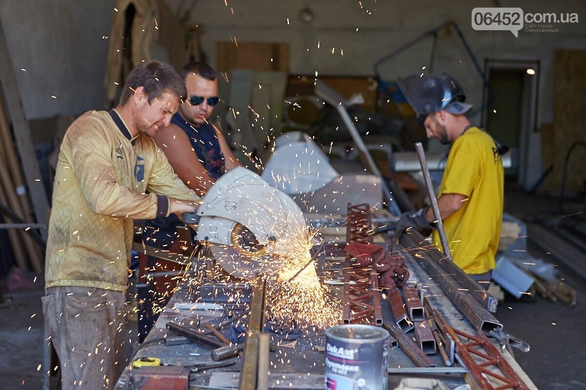 Изготовление и монтаж металлоконструкций, фото-11