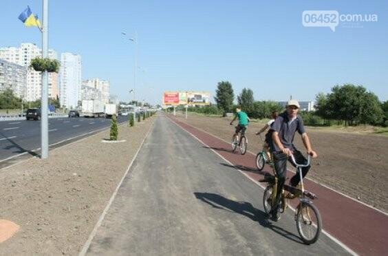 Как отремонтировали велосипедные дорожки по ул. Курчатова в Северодонецке (фото), фото-9