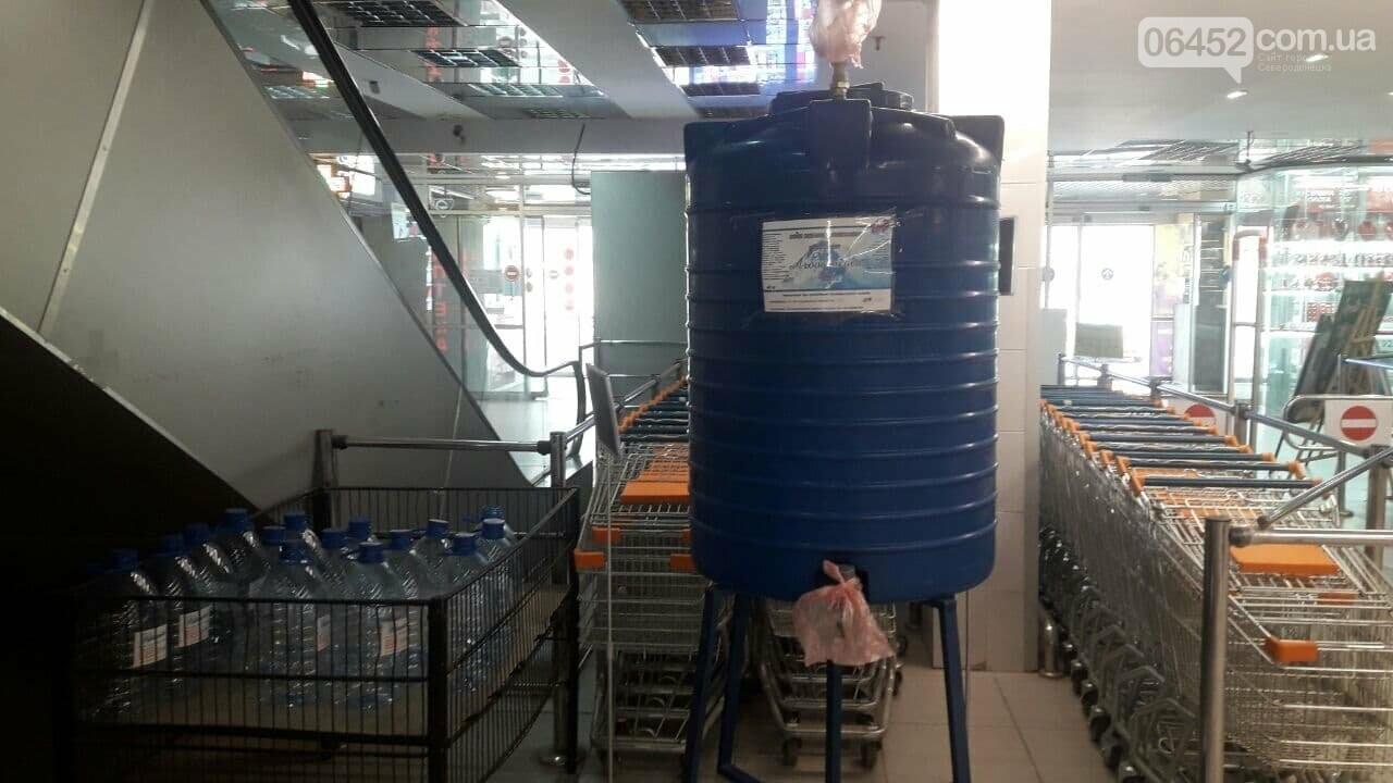 Питьевая вода в супермаркетах