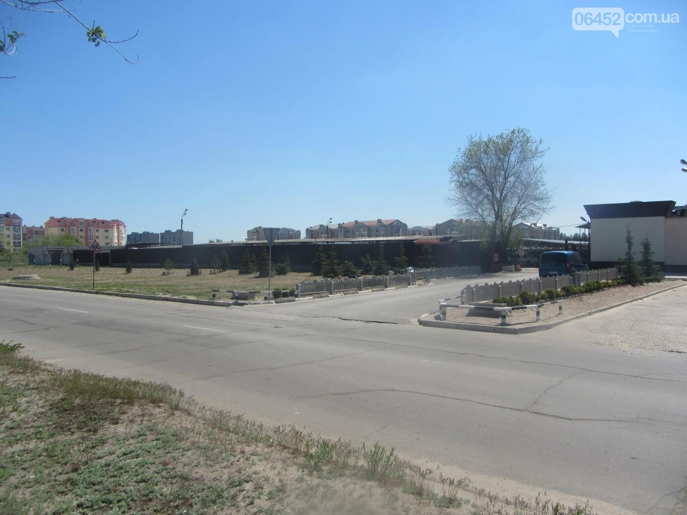 Автомобильная стоянка в Северодонецке