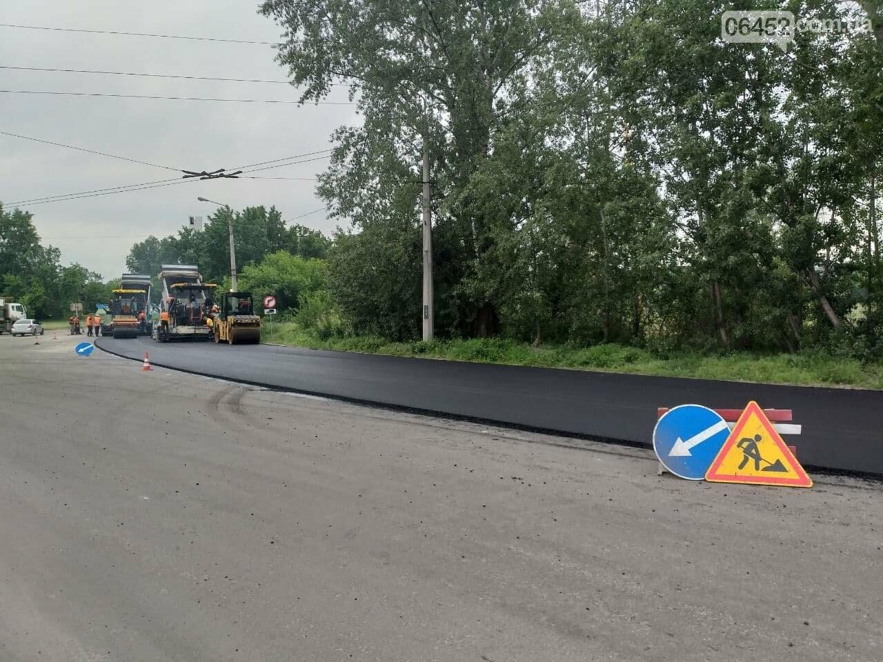 Ограничено движение троллейбусов и перекрыт пойменный мост: в Северодонецке ремонтируют дорогу, фото-1