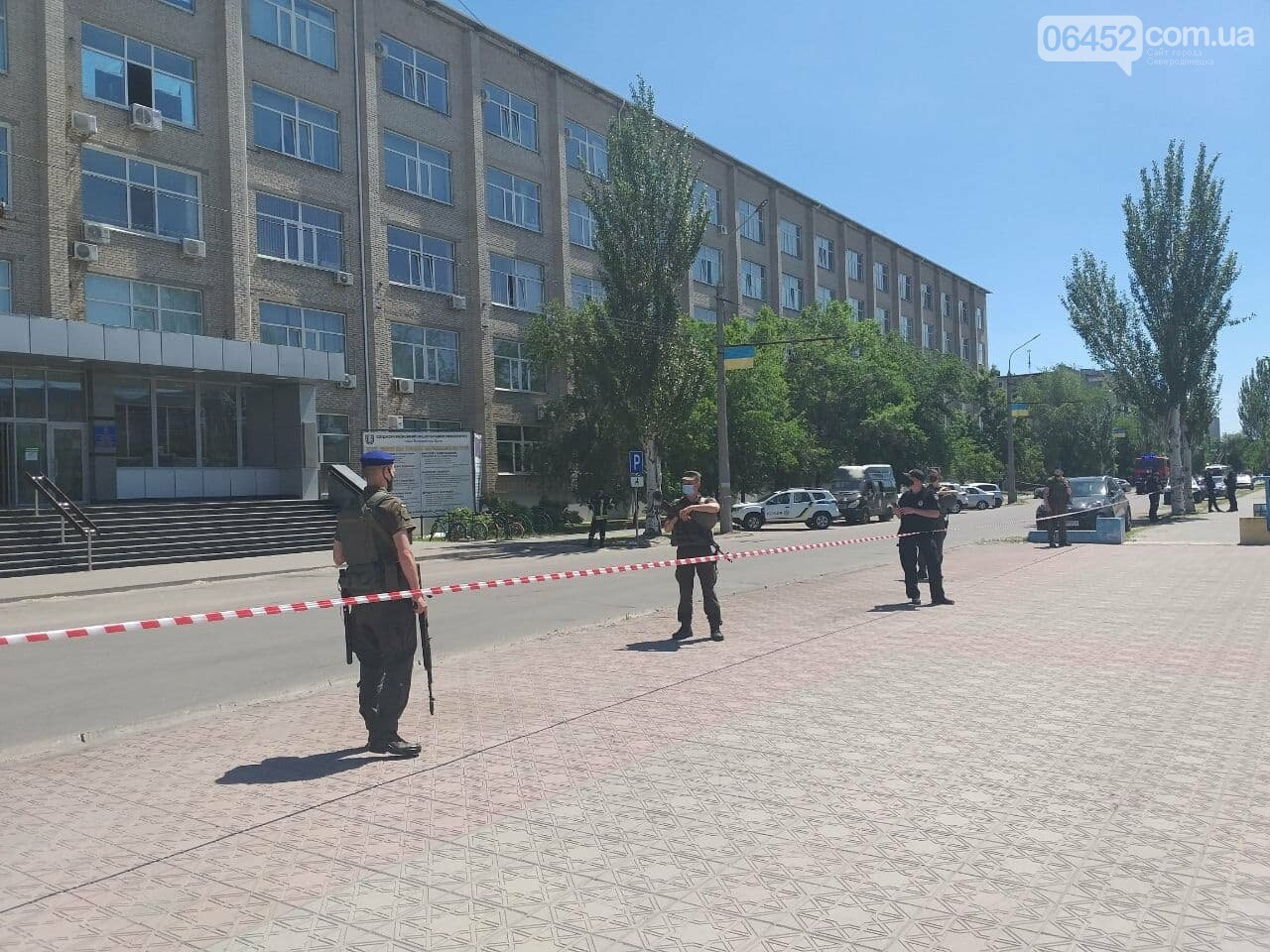 В Северодонецке неизвестный сообщил о минировании корпусов двух университетов (фото), фото-4