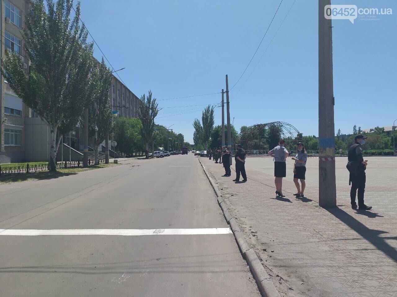 В Северодонецке неизвестный сообщил о минировании корпусов двух университетов (фото), фото-11