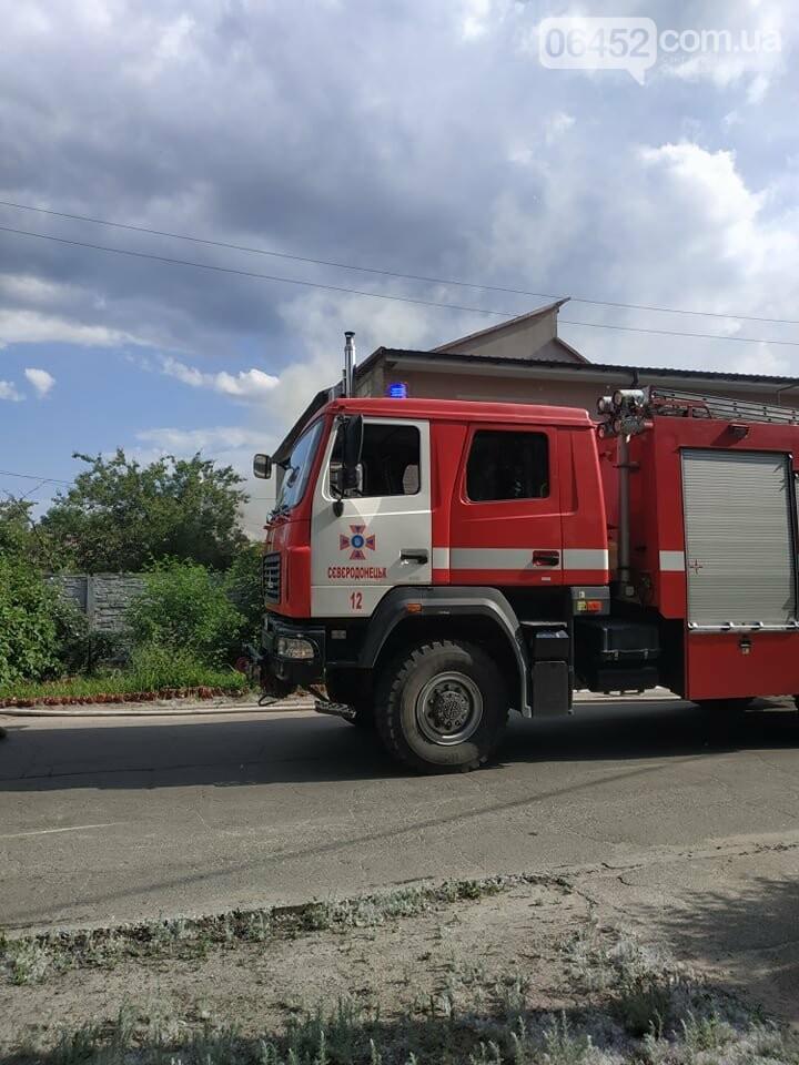 Пожар в Северодонецке: в частном секторе горела хозпостройка (фото) , фото-3