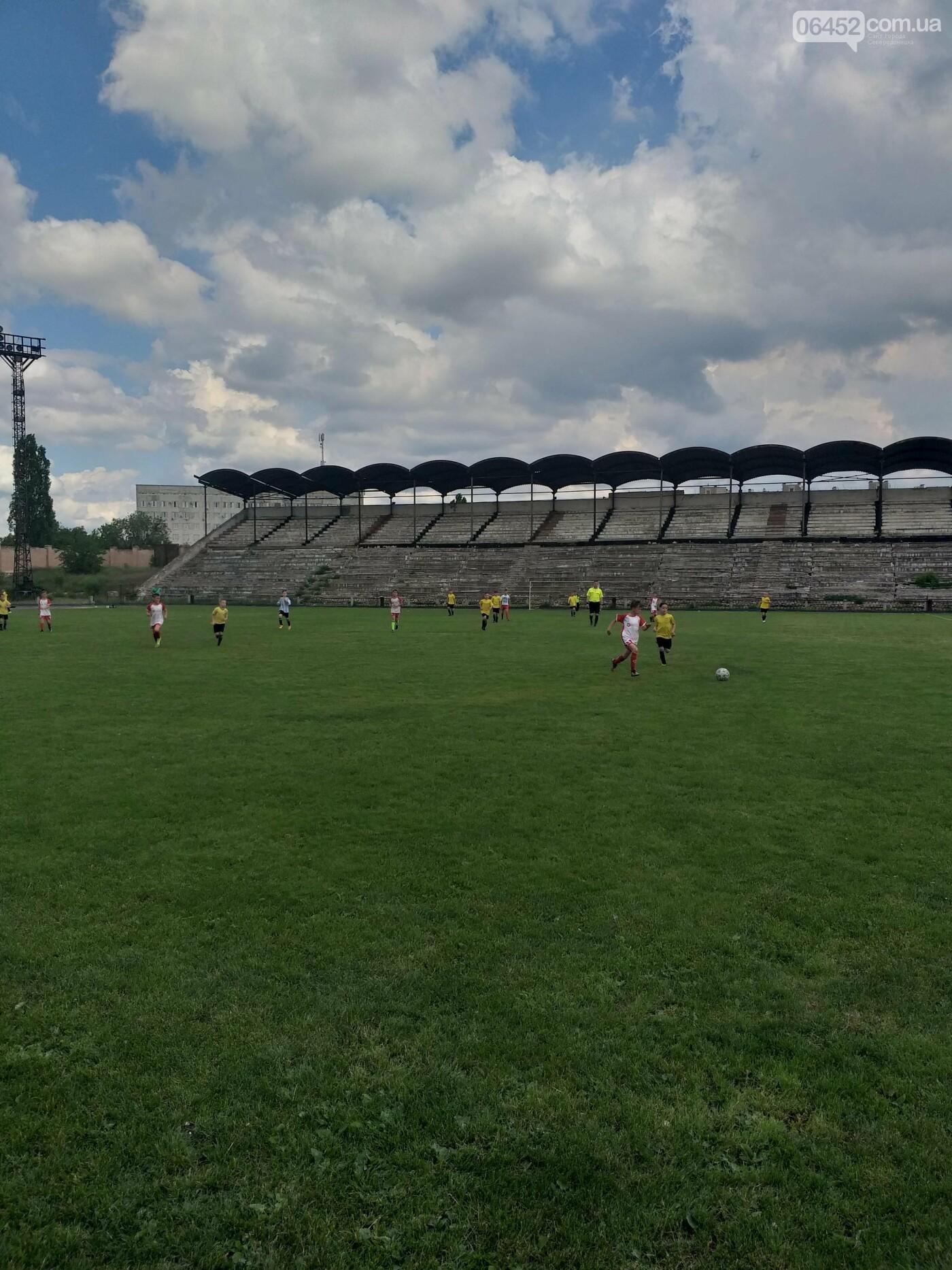 Северодонецк отметил День города яркими футбольными матчами (фото, видео) , фото-1