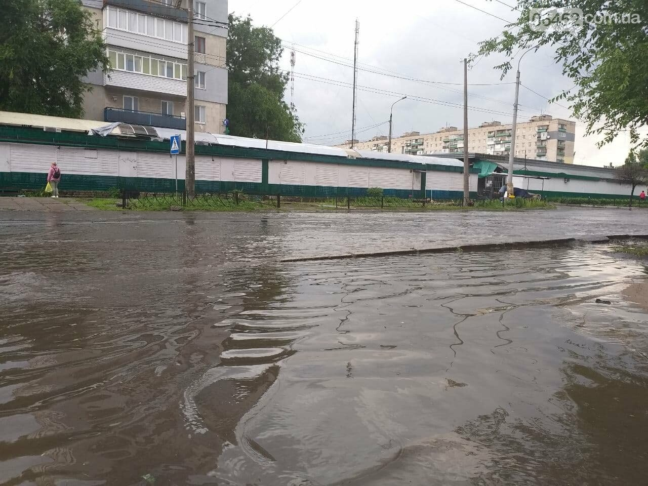 После дождика в четверг: мощный ливень обрушился на Северодонецк и оставил массу проблем, фото-19