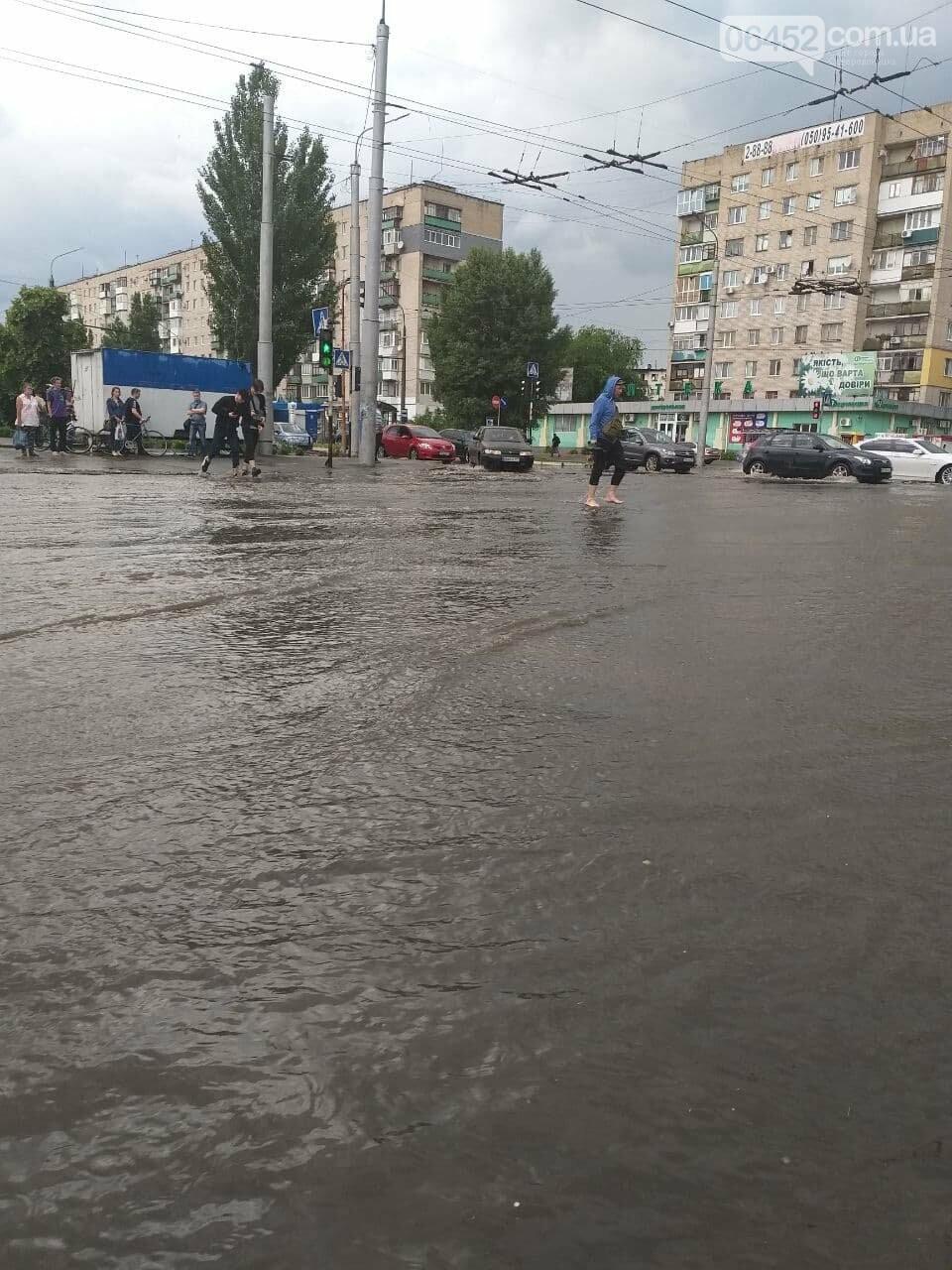 После дождика в четверг: мощный ливень обрушился на Северодонецк и оставил массу проблем, фото-6