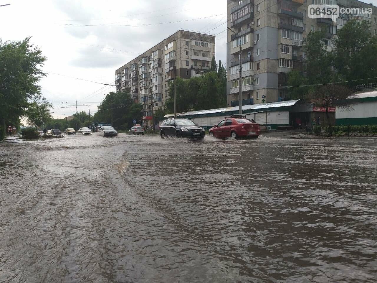 После дождика в четверг: мощный ливень обрушился на Северодонецк и оставил массу проблем, фото-10