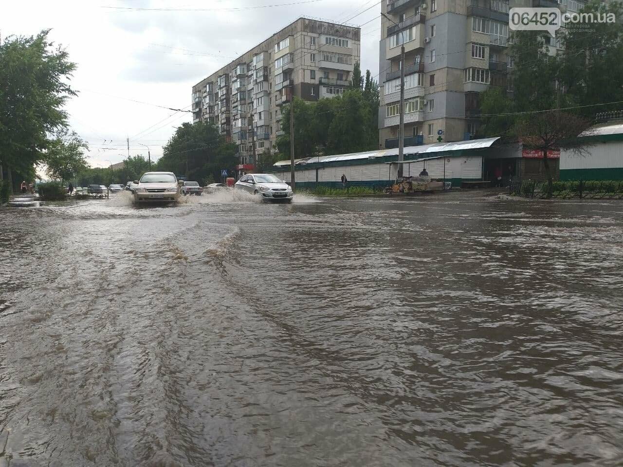 После дождика в четверг: мощный ливень обрушился на Северодонецк и оставил массу проблем, фото-8