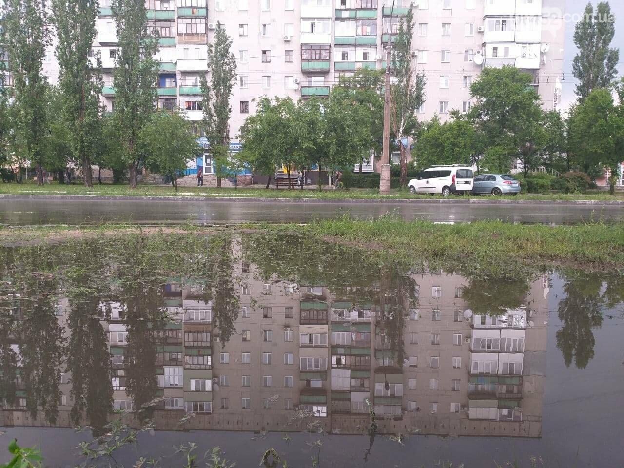 После дождика в четверг: мощный ливень обрушился на Северодонецк и оставил массу проблем, фото-21